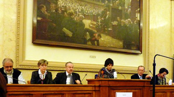 21 novembre 2013 – Ouverture du dialogue avec les pouvoirs publics au Palais Bourbon 1