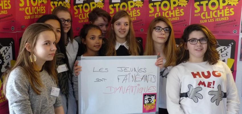 Stop aux clichés sur les jeunes.