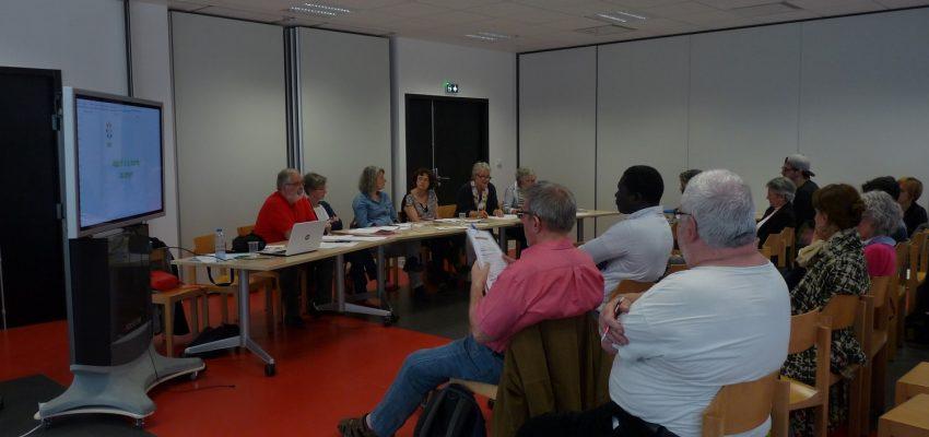 26 mai 2016 : Assemblée plénière d'AEDE