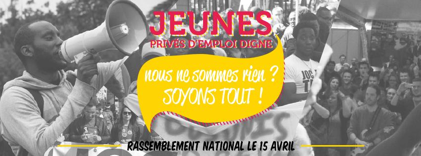 Rassemblement national de la JOC le 15 avril 2017