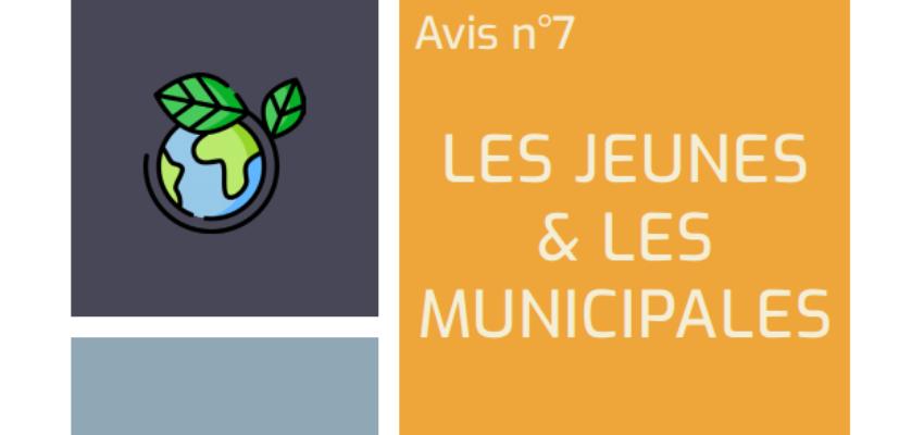 Municipales 2020 : prenons en compte la jeunesse à l'échelle locale !